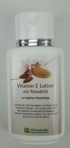 Vitamin E Lotion mit Mandelöl 200 ml